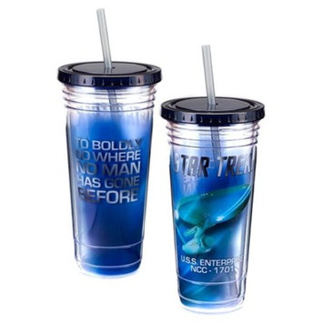 Vandor LLC Hello Kitty 24 Oz. Acrylic Travel Cup