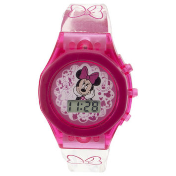 Disney Minnie Mouse Light Up Strap Watch