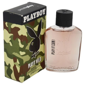 Playboy M-5129 3.4 oz Play It Wild EDT Spray for Men