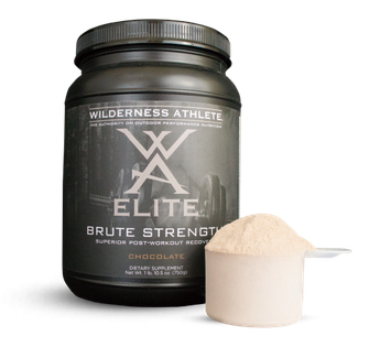 Wilderness Athlete Elite Brute Force Protein Recovery Supplement-30 Serving-Chocolate