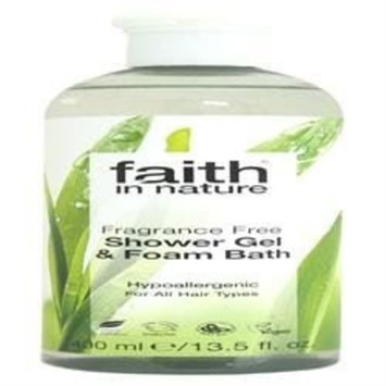 (10 PACK) - Faith Fragrance Free Shower Gel | 400ml | 10 PACK - SUPER SAVER - SAVE MONEY : Beauty