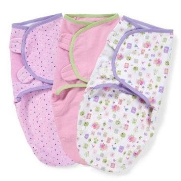 Summer Infant SwaddleMe Adjustable Infant Wrap 3-Pack, Who Loves You