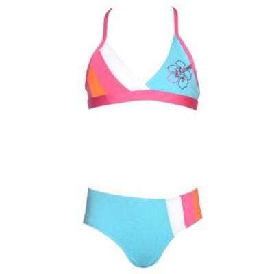 Pink Platinum Girls 4 Turquoise Bikini UV Protection Swimsuit