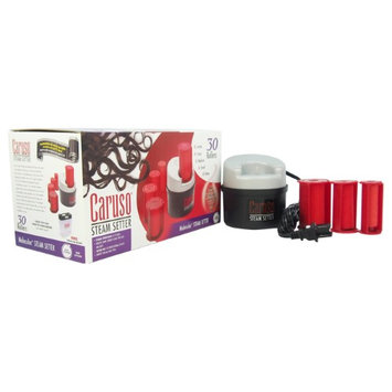 Molecular Steam Setter - Model # C97953CN by Caruso for Unisex - 1 Pc Hair Setter Steam Setter, 6 Jumbo Rollers, 6 Large Rollers, 6 Medium Rollers, 6 Small Rollers, 6 Petite, Storage Bag Included