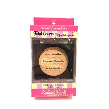 Beauty Benefits Total Coverage Foundation Powder, Latte