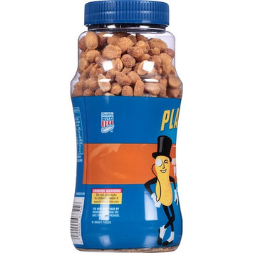 Planters Dry Honey Roasted Peanuts (16oz Canister, Pack of 4)