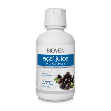 Biovea ACAI JUICE (Certified Organic) (16oz) 473ml