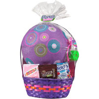 Easter Basket with Toys and Assorted Candies, 5 pc