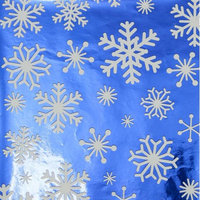 Impact Innovations, Inc. MIXED UP FLAKES FOIL GIFTWRAP