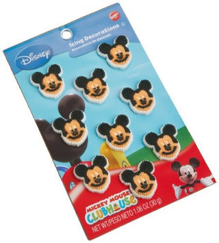 New Wilton Disney EDIBLE MICKEY MOUSE ICING DECORATIONS