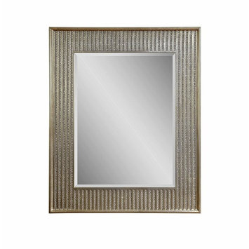 Bassett Mirror Bling Wall Mirror, Champagne