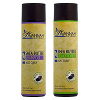 Savannah Hair Therapy Shea Butter Shampoo & Conditioner