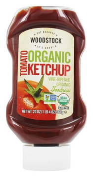 Woodstock Farms - Organic Tomato Ketchup - 20 oz(pack of 4)