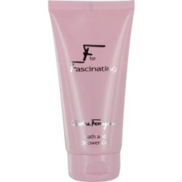 F FOR FASCINATING by Salvatore Ferragamo for WOMEN: SHOWER GEL 5 OZ