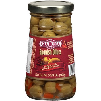Gia Russa Stuffed with Minced Pimiento Spanish Olives, 5 3/4 oz