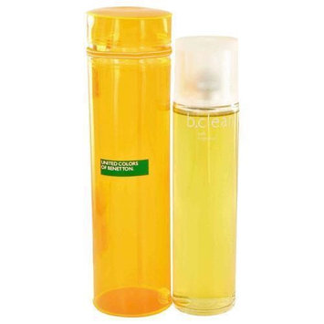 United Colours Of Benetton Be Clean Soft by Benetton Eau De Toilette Spray 3.4 oz for Female
