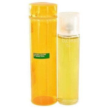 United Colours Of Benetton Be Clean Soft by Benetton Eau De Toilette Spray 3.4 oz for Female