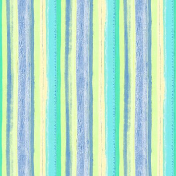 Blue Mountain Wallcoverings Blue Mountain MultiStripe Wallcovering, Pastel Blue/Green/Yellow