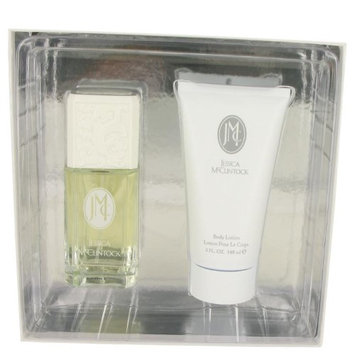 JESSICA Mc CLINTOCK by Jessica McClintock Gift Set - 3.4 oz Eau De Parfum Spray + 5 oz Body Lotion Women