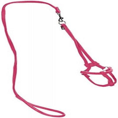 Dogline M8013-7 48 L x 0. 33 W inch Comfort Microfiber Round Step-In Harness, Pink