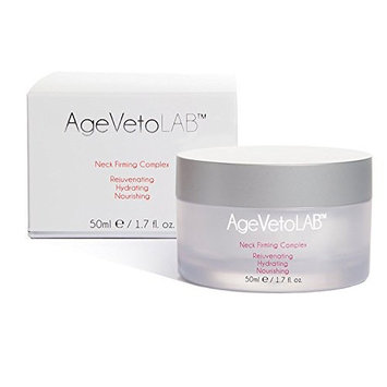Neck Firming Cream Rejuvenating Moisturizing Reduce Wrinkle Appearance Complex By AgeVeto 50Ml (1.7 Oz)