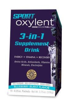 Sport Oxylent Blueberry Burst Oxylent 15 Stick Packet Box