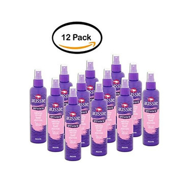 PACK OF 12 - Aussie Sprunch Non-Aerosol Hairspray Flexible Hold, 8.5 FL OZ