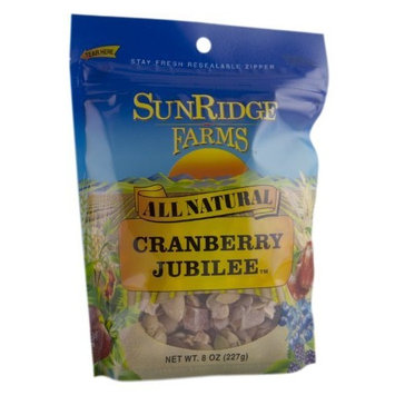 Sunridge Farms Cranberry Jubilee, 8-Ounce Bags (Pack of 12)