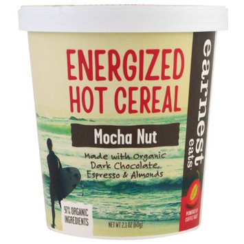 Earnest Eats, Energized Hot Cereal, Mocha Nut, 2.1 oz (pack of 6)