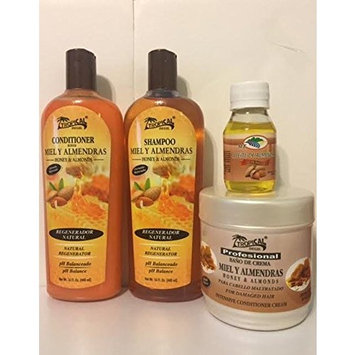 Tropical Honey and Almond Combo Set + Free Hair Oil