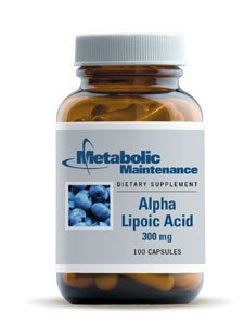 Metabolic Maintenance Alpha Lipoic Acid - 300 mg - 100 Capsules