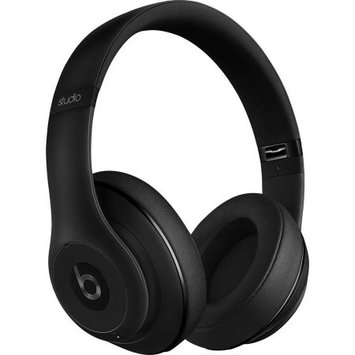 Beats By Dr Dre Beats by Dr. Dre: Studio 2.0 Noise Cancelling Headphones with RemoteTalk - Matte Black (Manufacturer Refurbished)