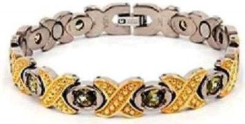 Electrified Feel Better Jewelry ELECTRIFIED FEEL BETTER EJWJ-373B Titanium Bracelet with Neodymium Magnets