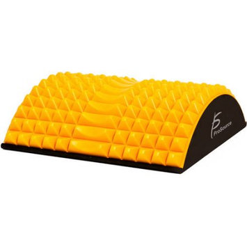 ProSource Arched Back Stretching Orthopedic Traction Device Spinal Lower Lumbar Support - Orange