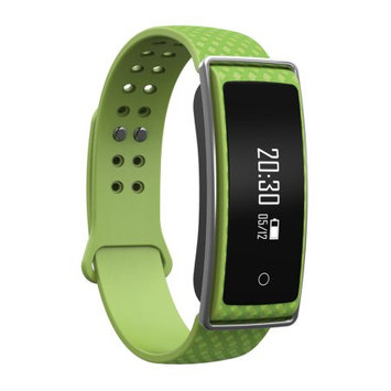 TechComm Y36+ Fitness Activity Tracker with Heart Rate Monitor, Bluetooth, Call and Text Notifications, Pedometer, Wake Up Gesture, Sleep Monitor and Remote Camera - Green