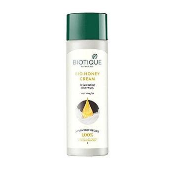 Biotique Bio Honey Cream Rejuvenating Body Wash100% Soap Free 190ml [Misc.]