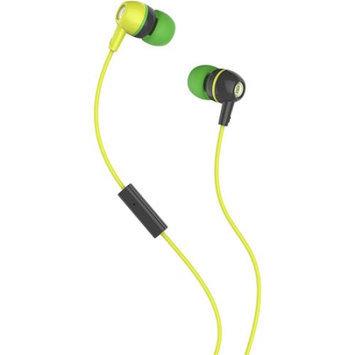 Skullcandy Spoke 2XL Earbuds, Black/Green