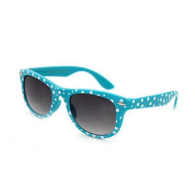 Kyra Kids Plastic Polka Dot Bow Sunglasses Lead Free