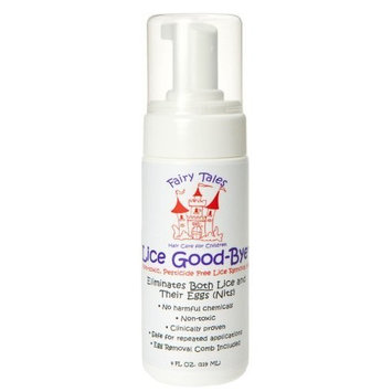 Fairy Tales Lice Good-bye Nit Removal System with Comb 4 Fl Oz