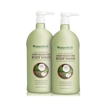 Nature Well Mega Nutrients Deep Moisture Body Wash (33.8 fl. oz., 2 pk.)