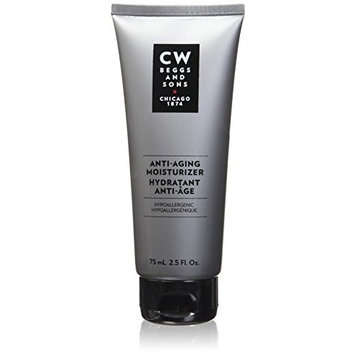 CW Beggs and Sons Anti-Aging Moisturizer for Men, Hypoallergenic and Fragrance-Free, 2.5 fl oz