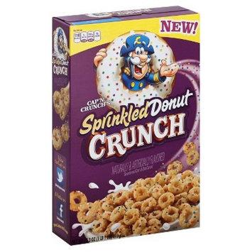 Cap'N Crunch's Sprinkled Donut Crunch Cereal 17.3 Ounce