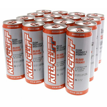 Kill Cliff Blood Orange Recovery & Hydration Drink 16 - 12 oz Cans