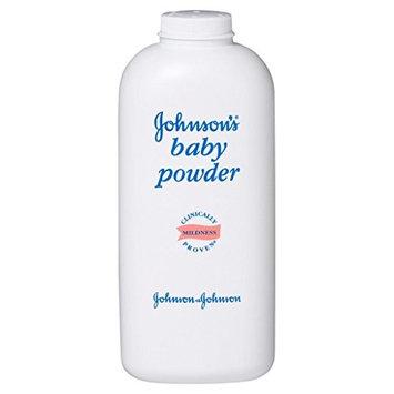 Johnson's Baby Powder, Pure Cornstarch/Aloe/Vitamin-E, 22 Oz.