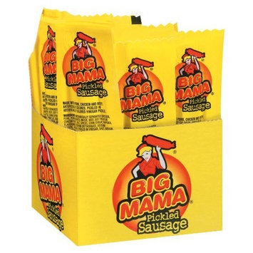 Penrose Big Mama Pickled Sausages, 2.4 Ounce, 12 Pack [Big Mama]
