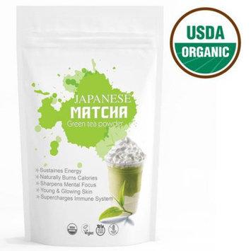 Wmbr Corp Oishi Japanese Matcha (16oz) USDA Organic, Gluten Free, Vegan Green Tea Powder