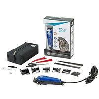 Furzone Bear Pet Clipper Powerful Electromagnetic Motor Adjustable Blade Blue