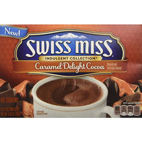 Swiss Miss, Hot Cocoa Mix, Indulgent Collection, Caramel Delight, 8 Count, 5.84oz Box (Pack of 3)
