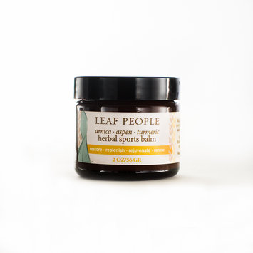 Leaf People Fresh Arnica & Turmeric Herbal Sports Balm2 oz.