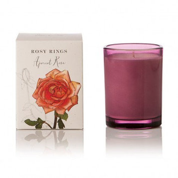 Rosy Rings Botanica Glass Candle 17.5 Oz. - Apricot Rose